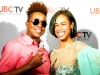 Bronx Artists Tabou TMF & Wisdom Natural on the red carpet at UBCTV's Lights Of Harlem TV Show - Photo By Always Beo