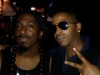 Tabou TMF aka Undefinable One and Path P chilling after performing live at Spike Hill