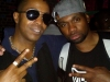 Tabou TMF aka Undefinable One & Varyus Wayz chilling at Spike Hill in Brooklyn